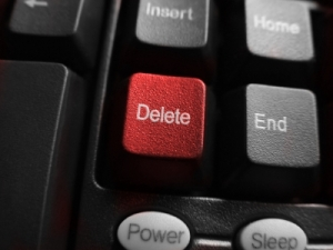 In response to litigation, Companies must be prepared to seize and control the delete key.